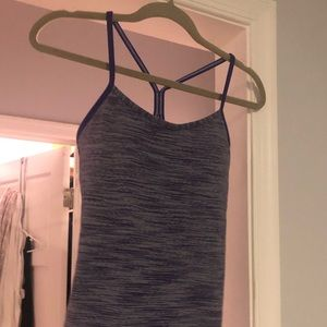 Lululemon Power Y shirt with built in bra